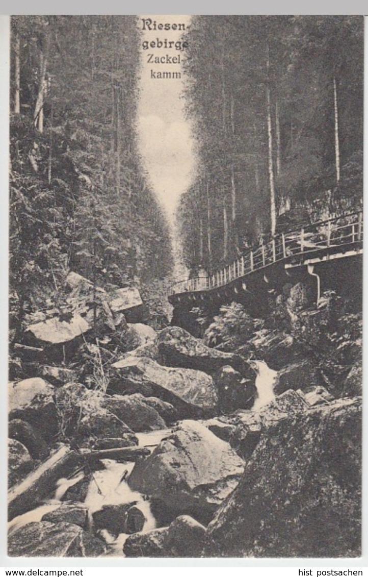 (10654) AK Zackelklamm Im Riesengebirge 1909 - Sudeten