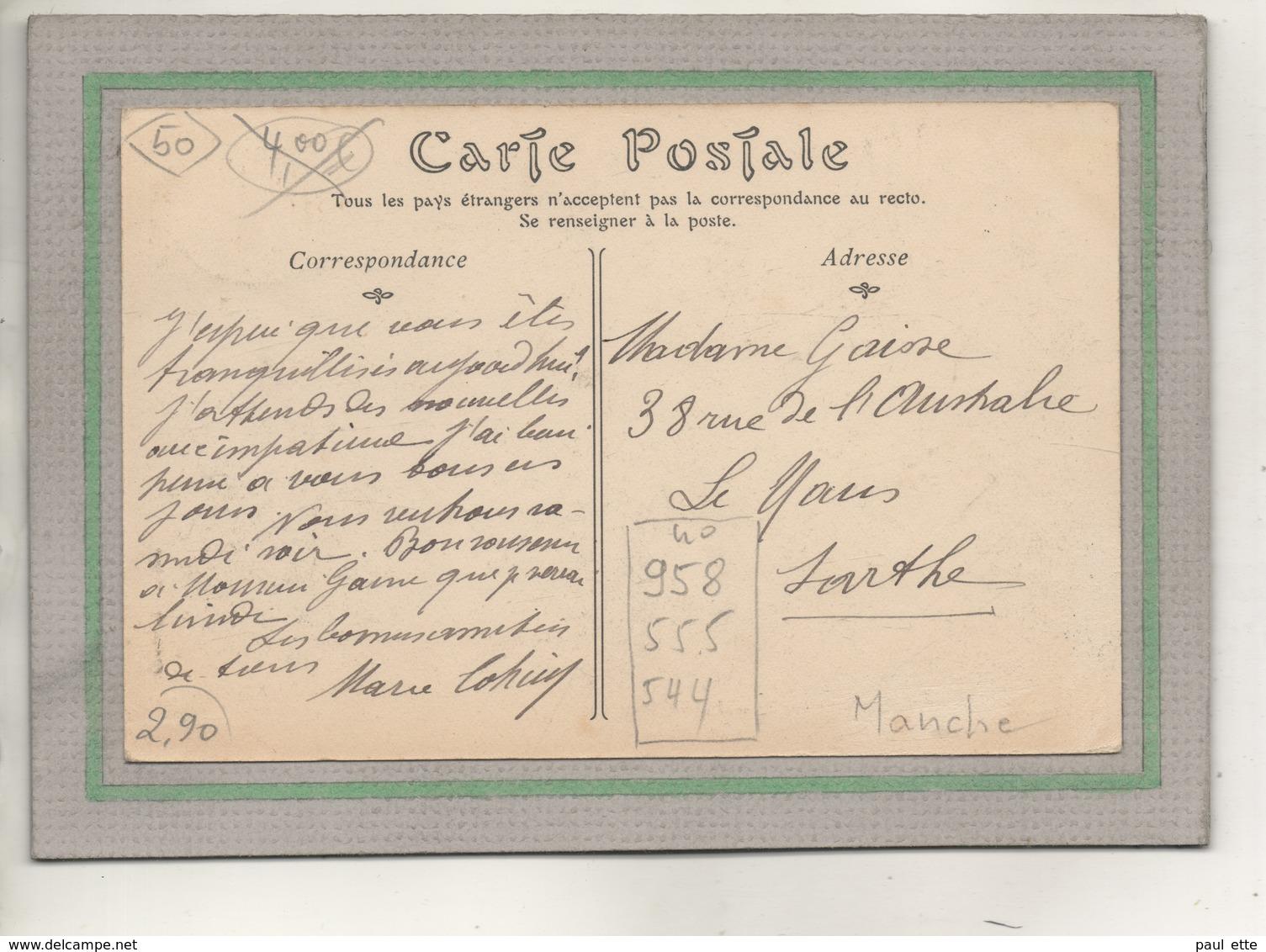 CPA - (50) JULOUVILLE - Aspect Des Villas Du Bord De Plage En 1912 - Autres Communes