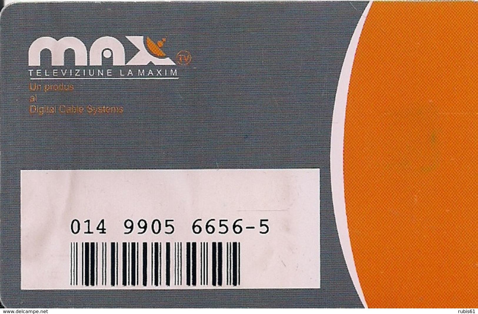 TARJETA TELEVIZIUNE LA MAXIM - Phonecards
