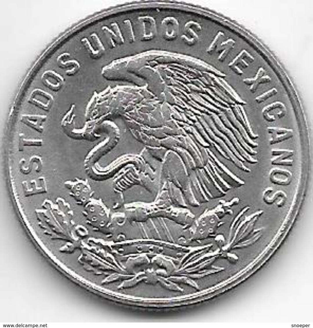 *mexico 50 Centavos 1969 Km 451    Unc - Mexico