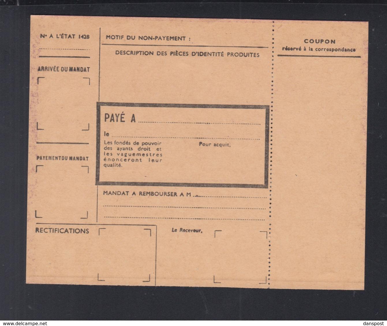 France Mandat-Carte - Sonstige