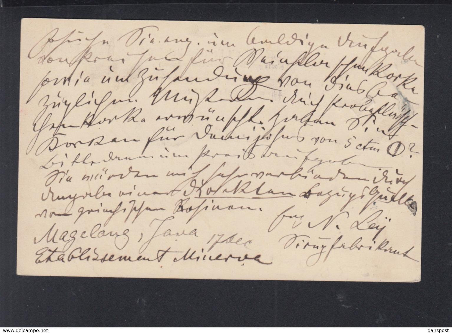 Briefkaart Magelong 1905 - Niederländisch-Indien
