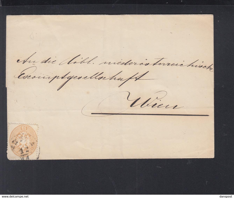 KuK Falthülle 1863 Wien - 1850-1918 Imperium