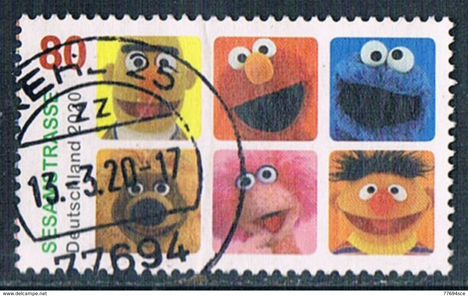 2020  Sesamstrasse - Used Stamps