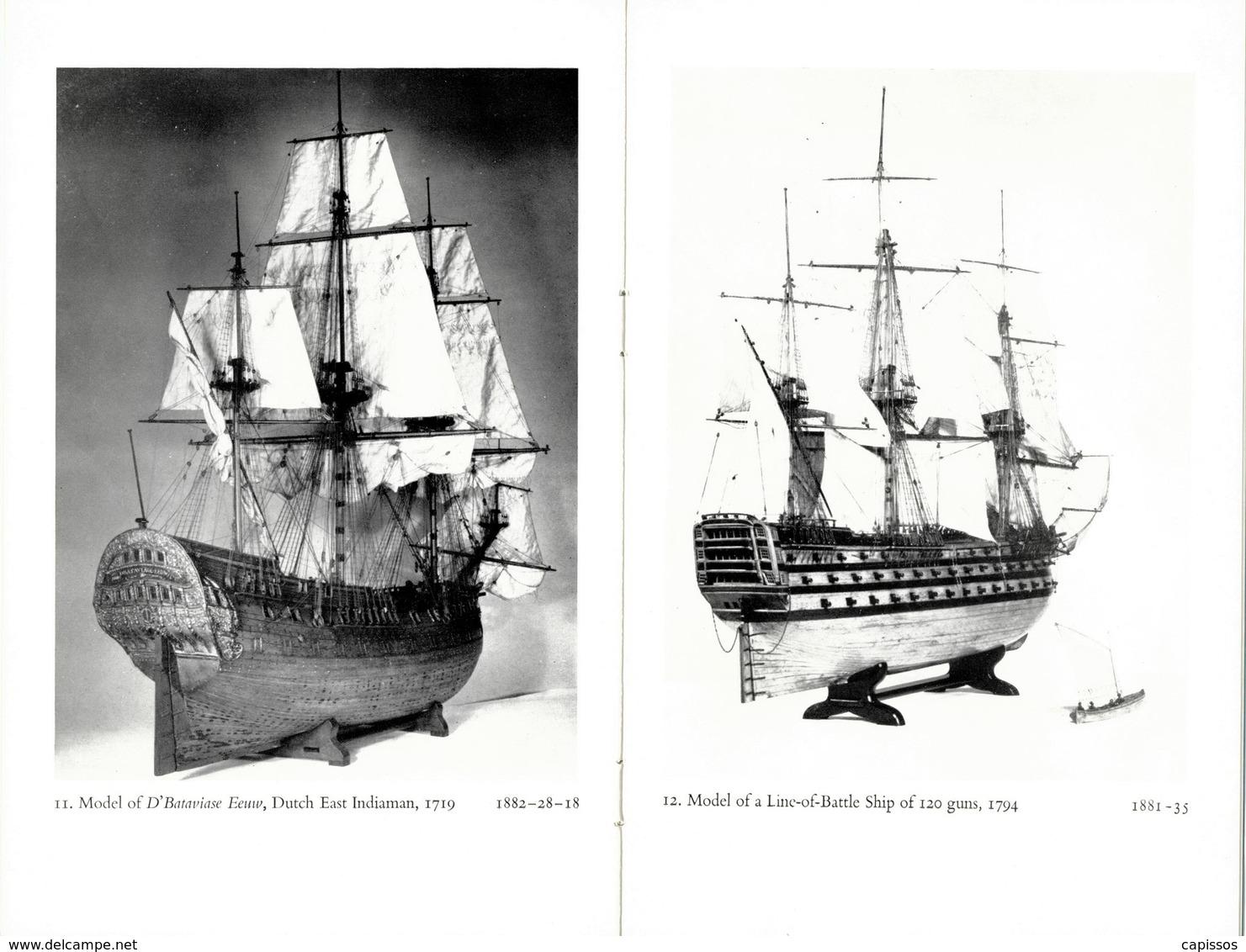 """""""Ship Models"""" Catalogue Exposition The Royal Scottish Museum Edimbourg 1956 28 Pages Et 24 Photos De Maquettes TBon Etat - Bâteaux"""