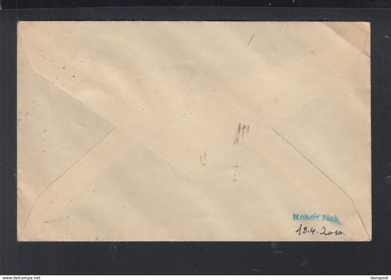 Dt. Reich Eckrandpaar 1935 Auf Brief Hindenburg Pommern 1935 - Briefe U. Dokumente