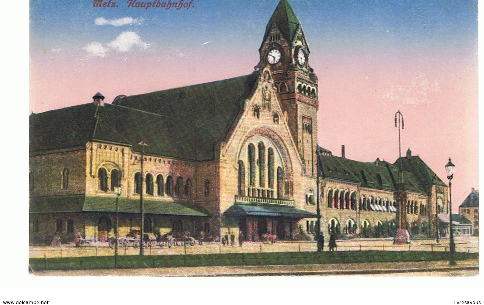 Hauptbahnhof CPA 57 METZ la Gare