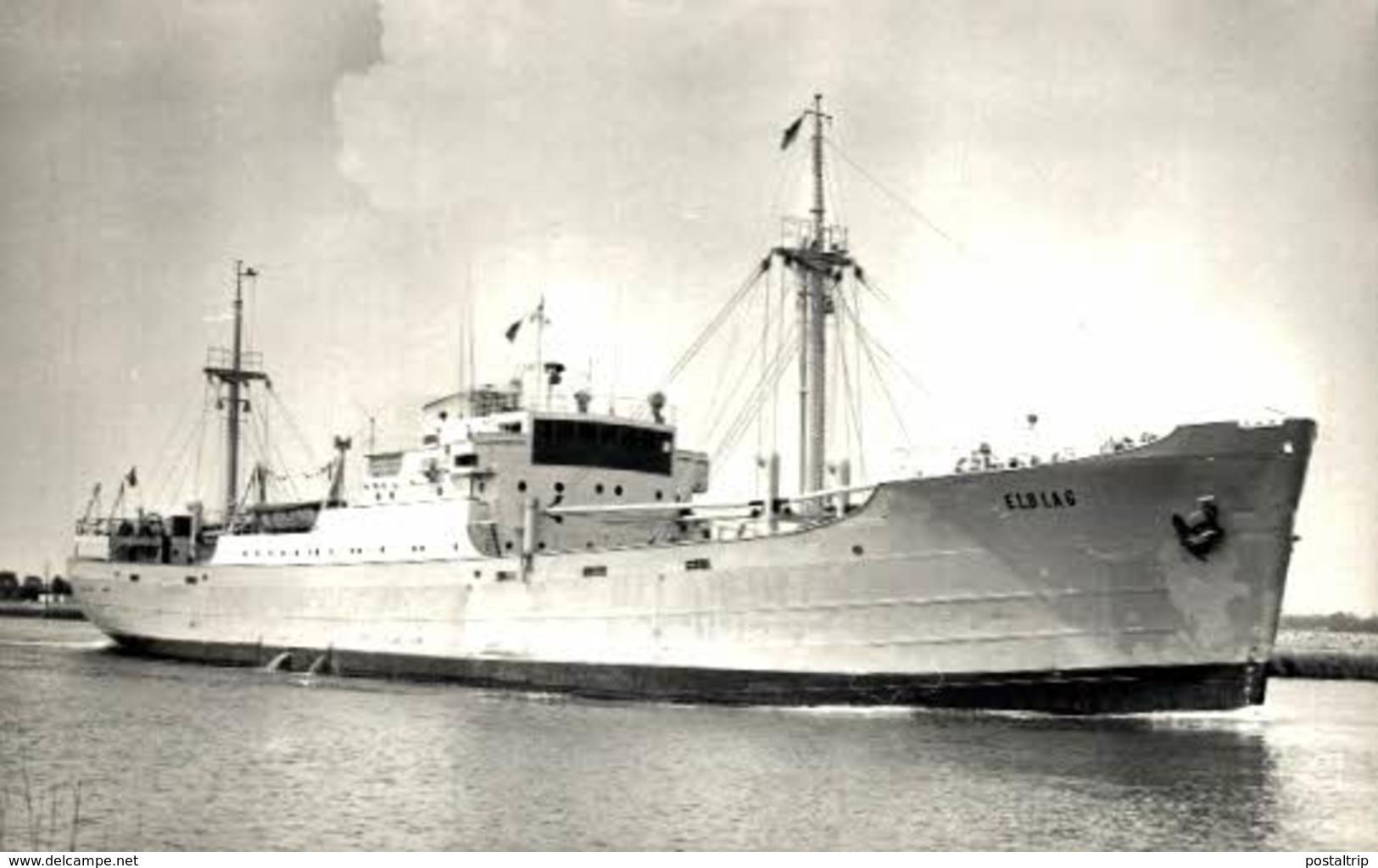 ELBLAG · 14*9 Cm_barco Ship Navire Bateau Seeschiff морской корабль - Otros