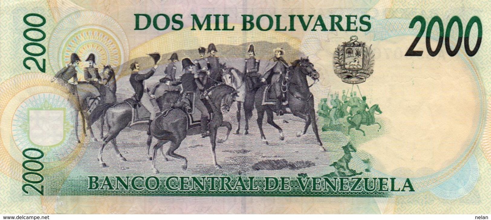 VENEZUELA  2000 BOLIVARES 1995 P-74b   CIRC.-xf-aunc - Venezuela