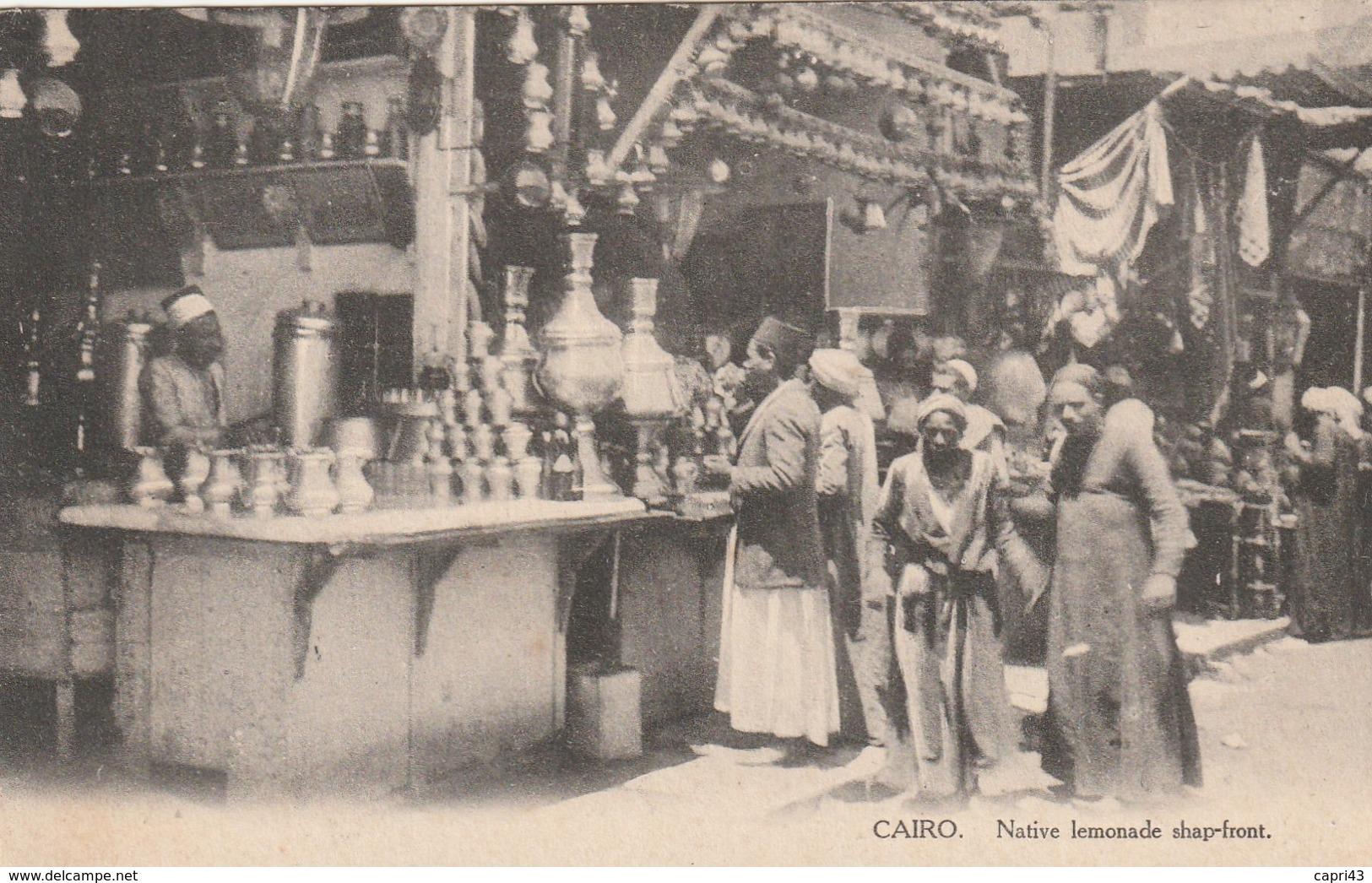 EGYPTE   MARCHE VOYAGEE BON ETAT - Cairo