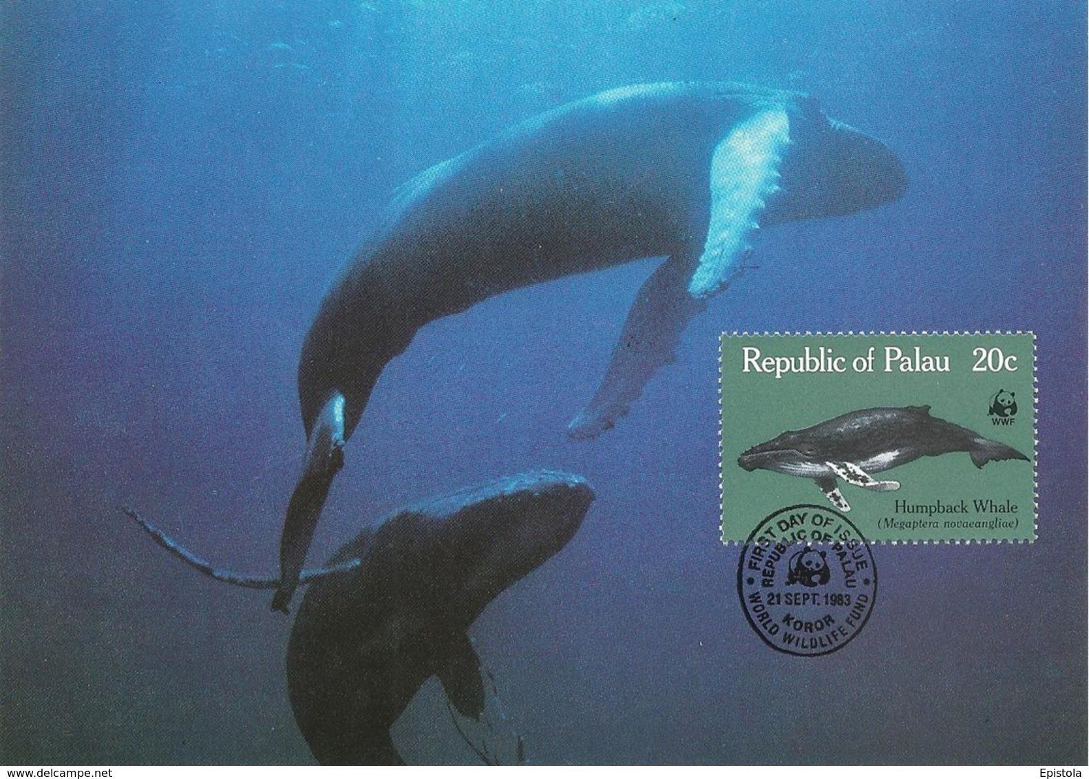 1983 - PALAU (Belau Ou Pelew) - Humpback Whale - Baleine à Bosse WWF - Palau