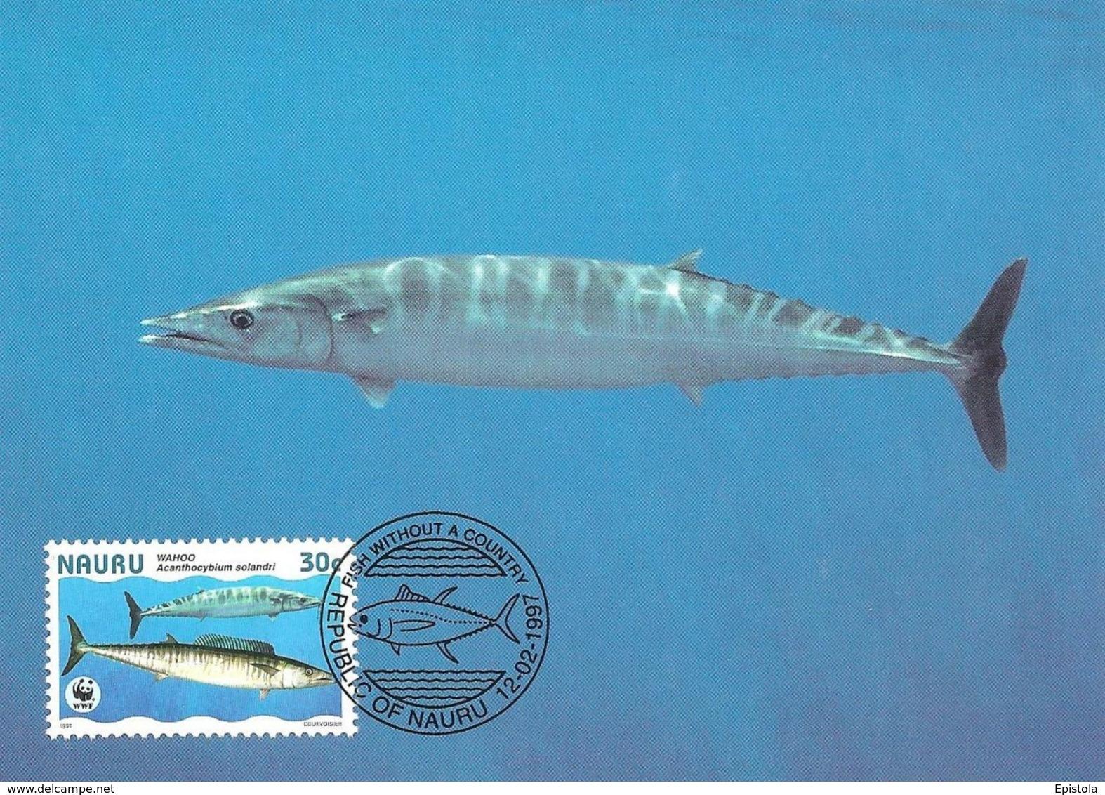 1997 - NAURU - Poisson WAHOO - Wahoo Fish WWF - Nauru