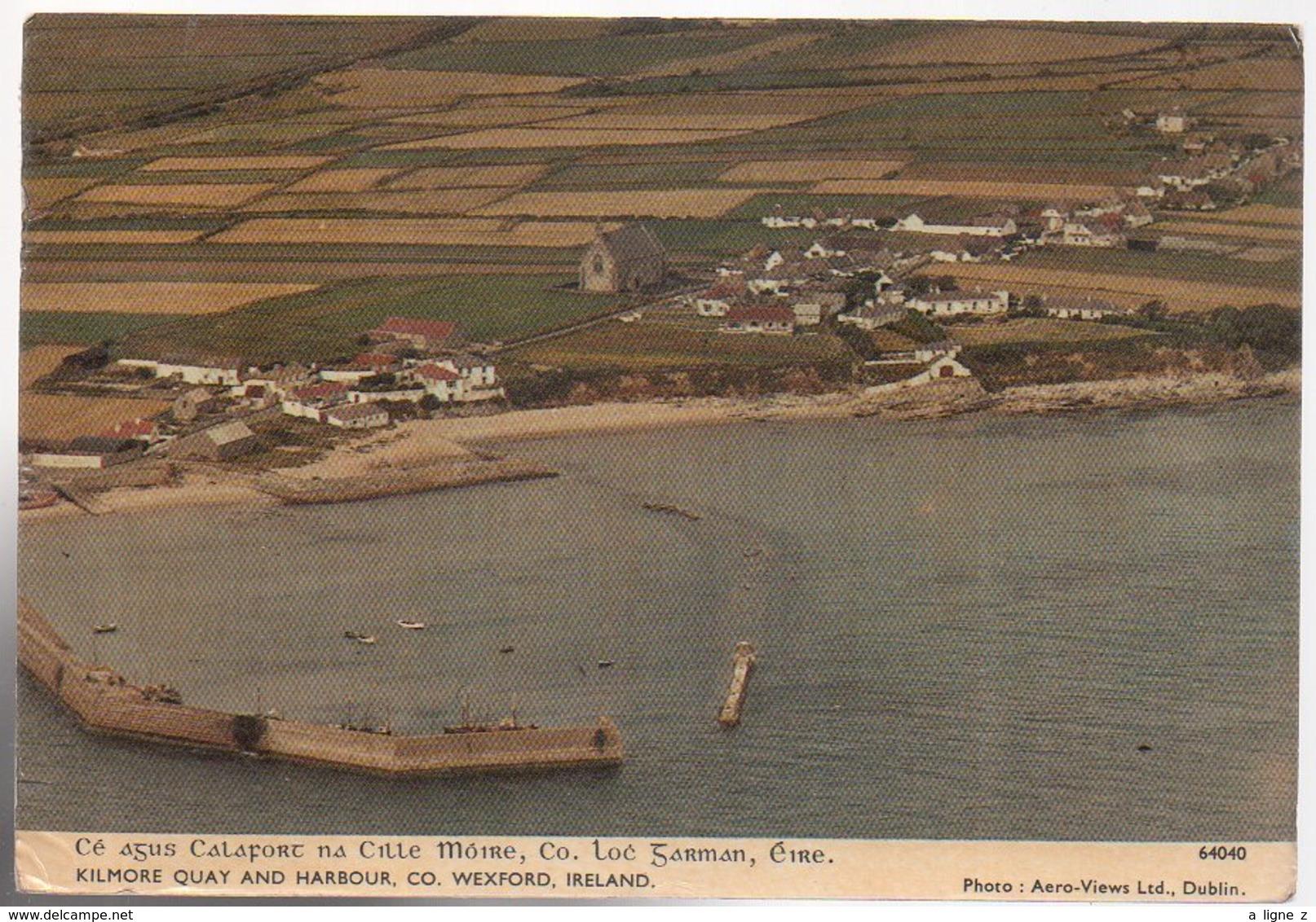 REF 480 :  CPSM Eire Irlande Ireland Kilmore Quay  Ballyteigue Bay - Other