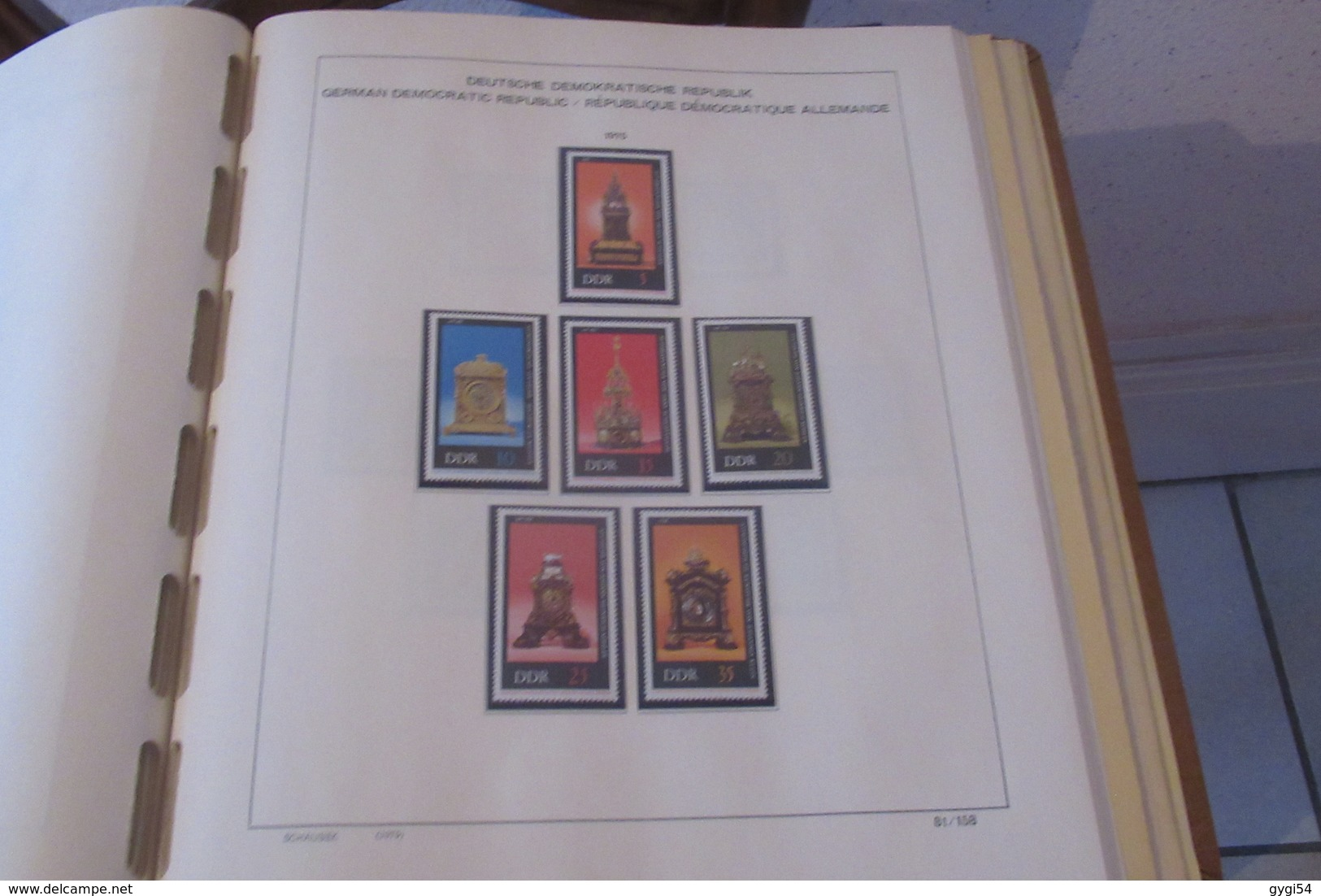 Allemagne D D R 1969  à 1976    N** MNH    96 SCANS - Stamps