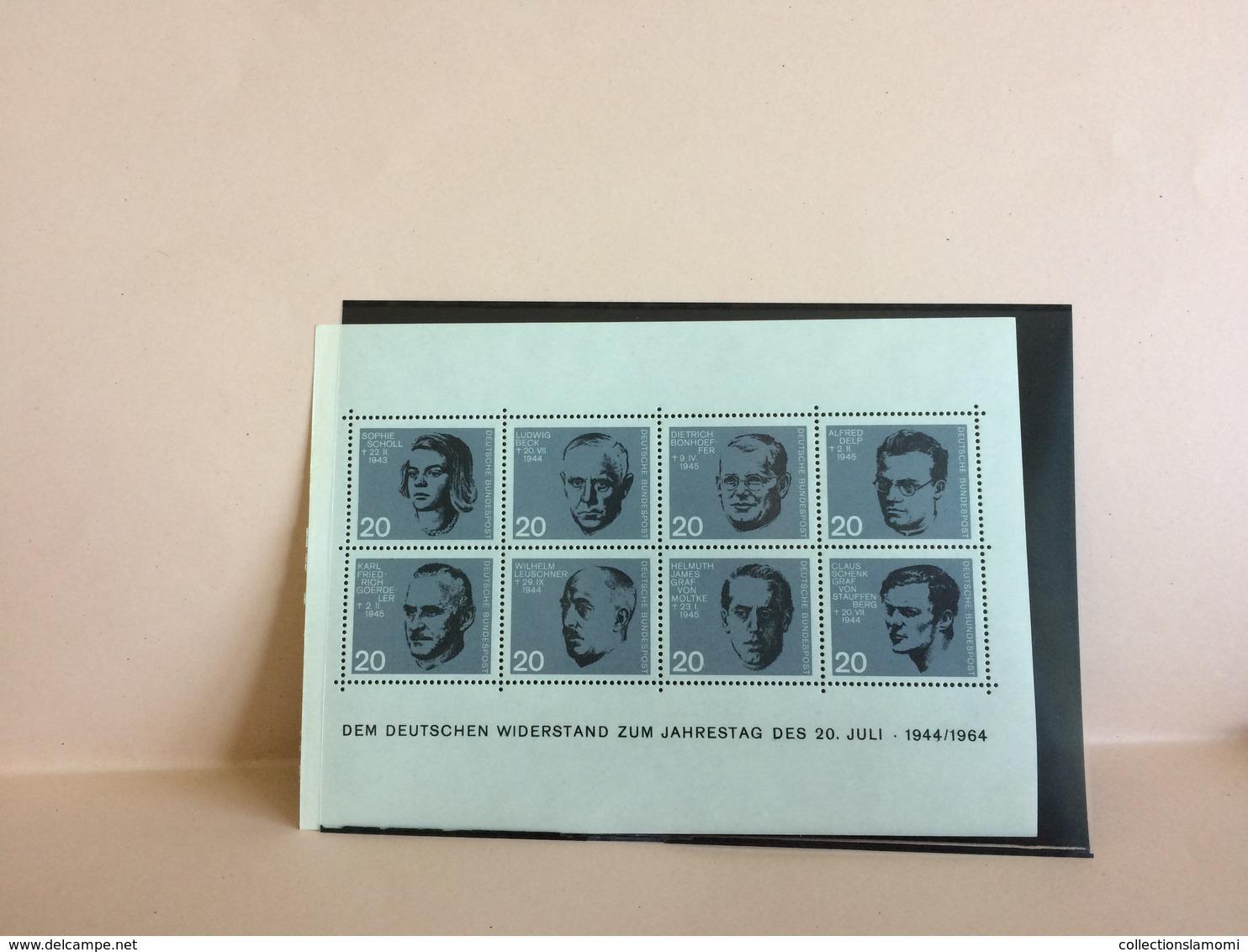 Lot Bloc Timbres Oblitérés + Neufs  Pays Monde Plusieurs Photos (lot N°15 ) - Stamps