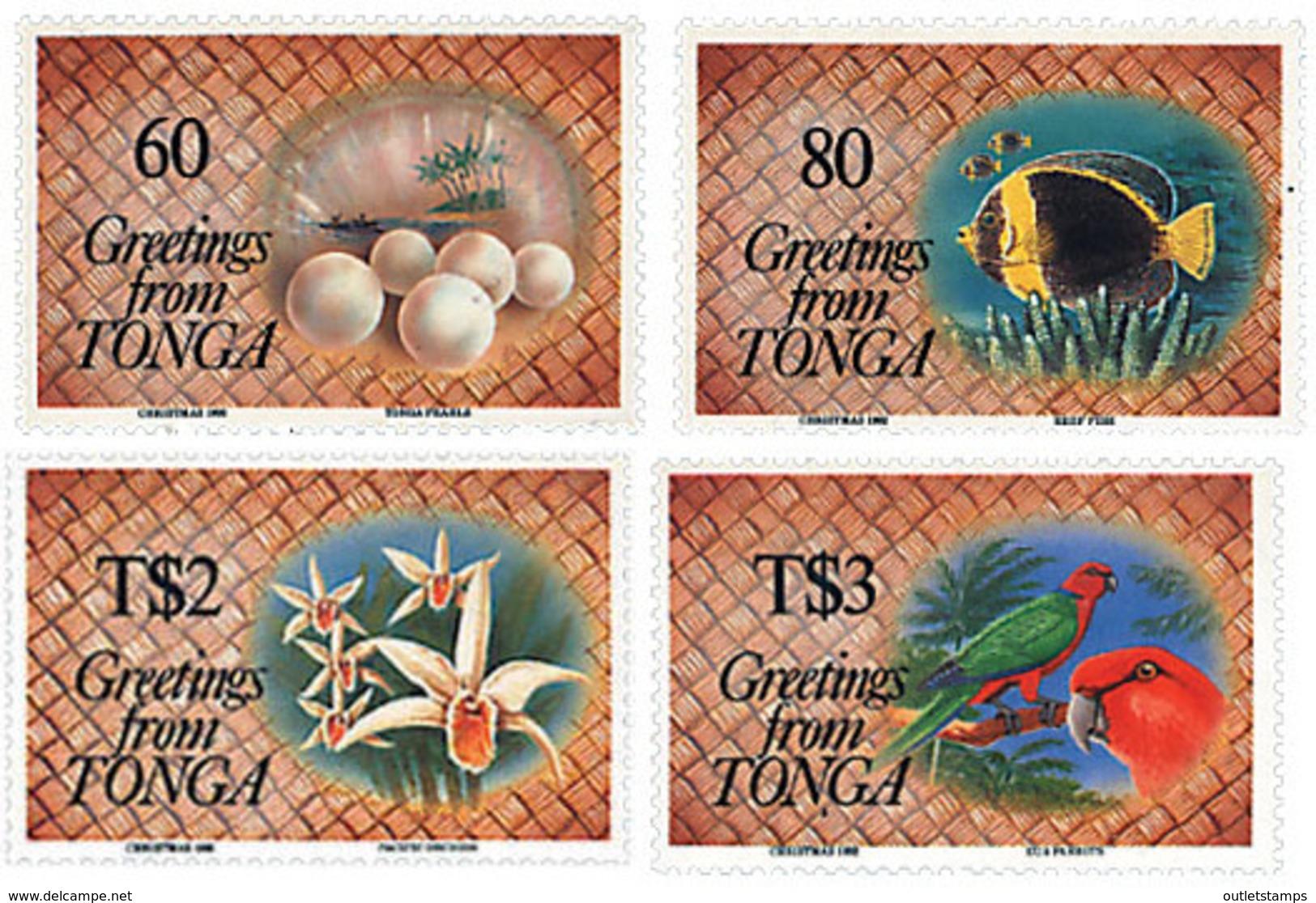 Ref. 94678 * NEW *  - TONGA . 1992. CHRISTMAS. NAVIDAD - Tonga (1970-...)