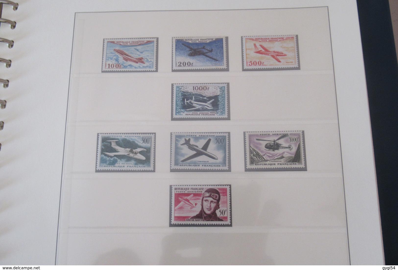 France 1953 - 1965 Cat Yt N° 940  à  1467 N** MNH  BLOC Philatec N°6 ET Poste Aérienne N° 30  à 41 N** MNH  COTE 2303 - Timbres