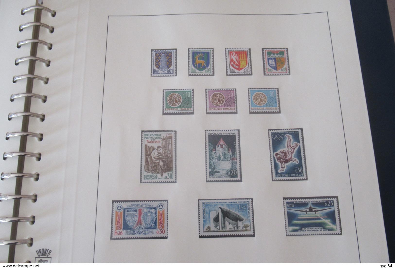 France 1953 - 1965 Cat Yt N° 940  à  1467 N** MNH  BLOC Philatec N°6 ET Poste Aérienne N° 30  à 41 N** MNH  COTE 2303 - Briefmarken