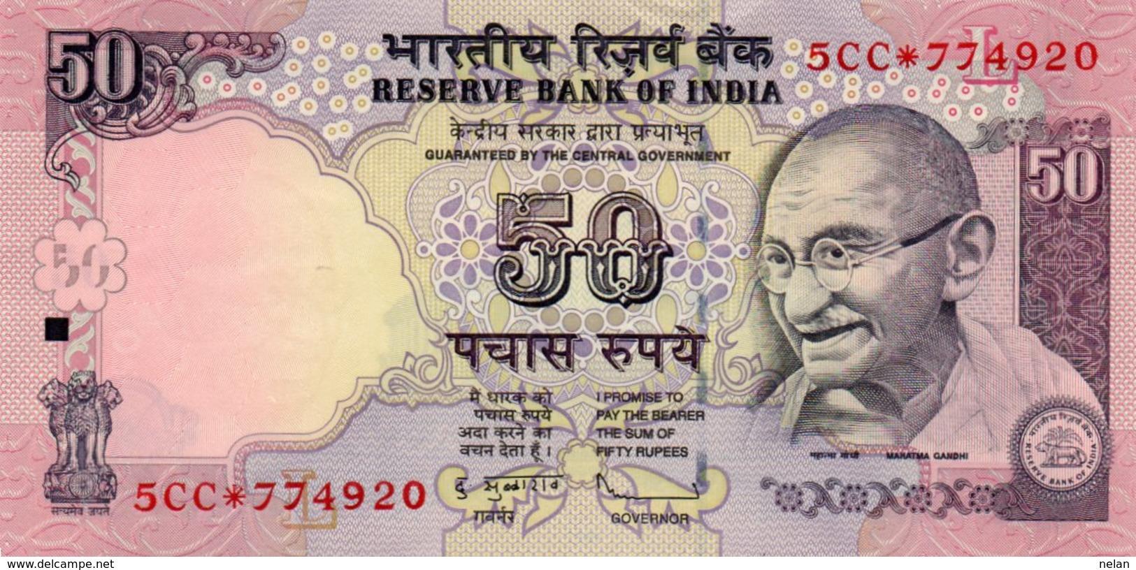 INDIA 50 RUPEES 2011 P-97xr UNC - India