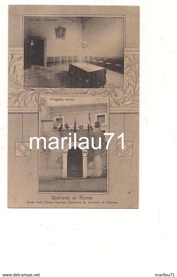 P1112 Lazio GIULIANO Di Roma Casa S Antonio Padova 1919  Viaggiata - Other Cities