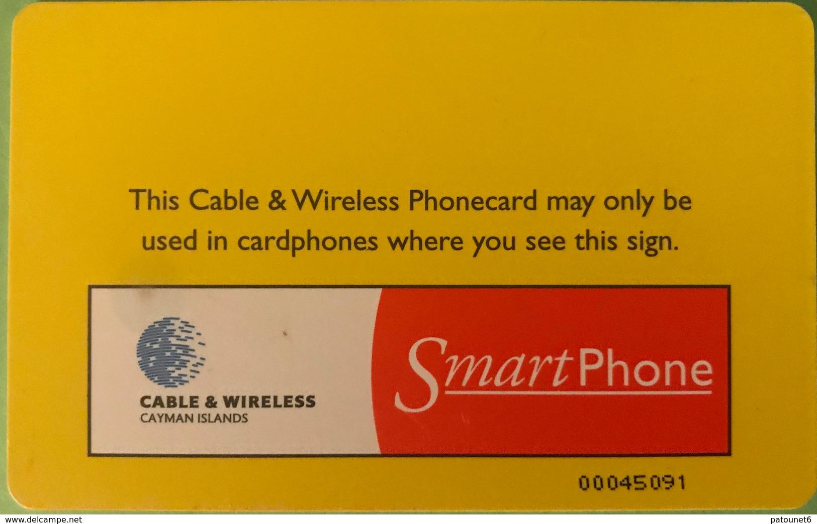 ILES CAYMAN  -  Phonecard  -  Cabble & Wirelees  -   CI $ 20 - Iles Cayman
