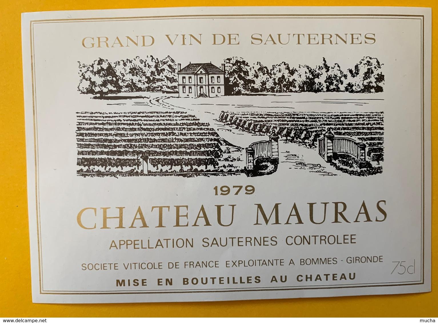 12669 - Château Mauras 1979 Sauternes - Bordeaux