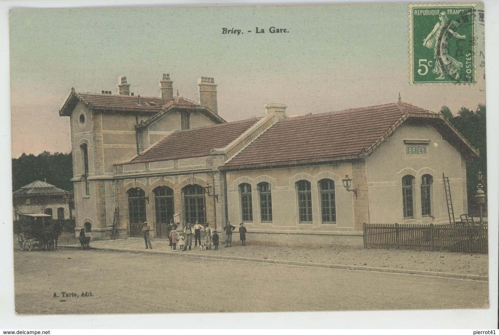 BRIEY - La Gare - Briey
