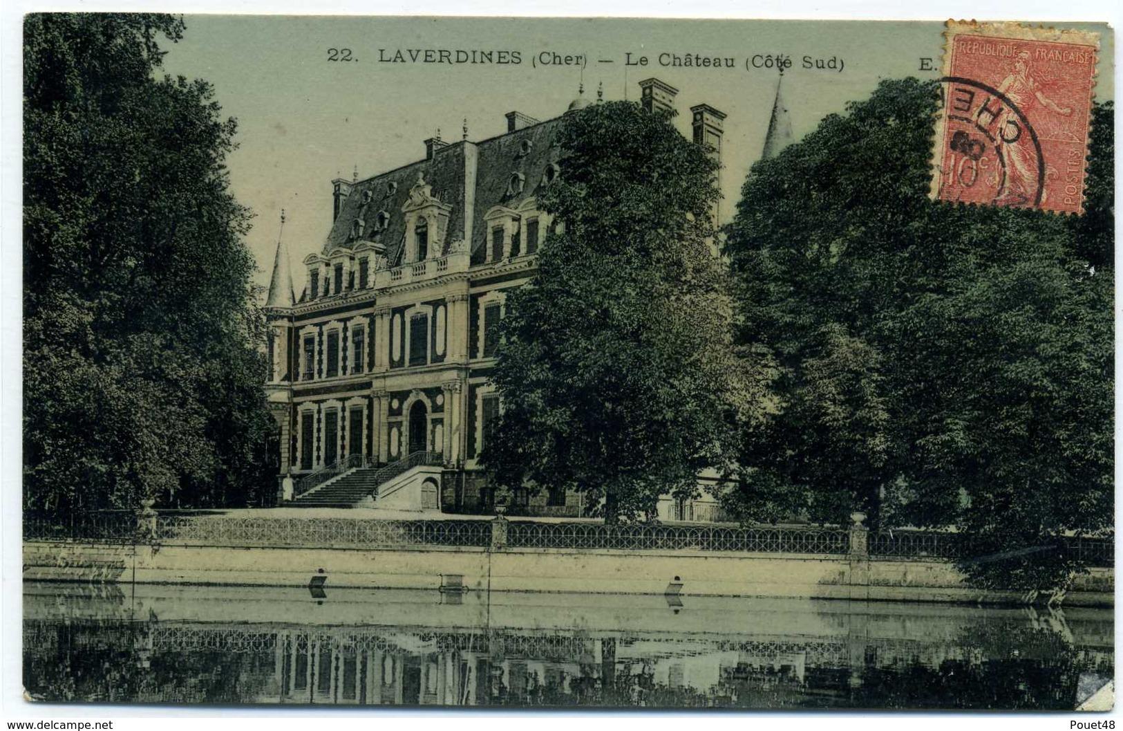 18 - LAVERDINES - Le Château (Côté Sud) - Autres Communes