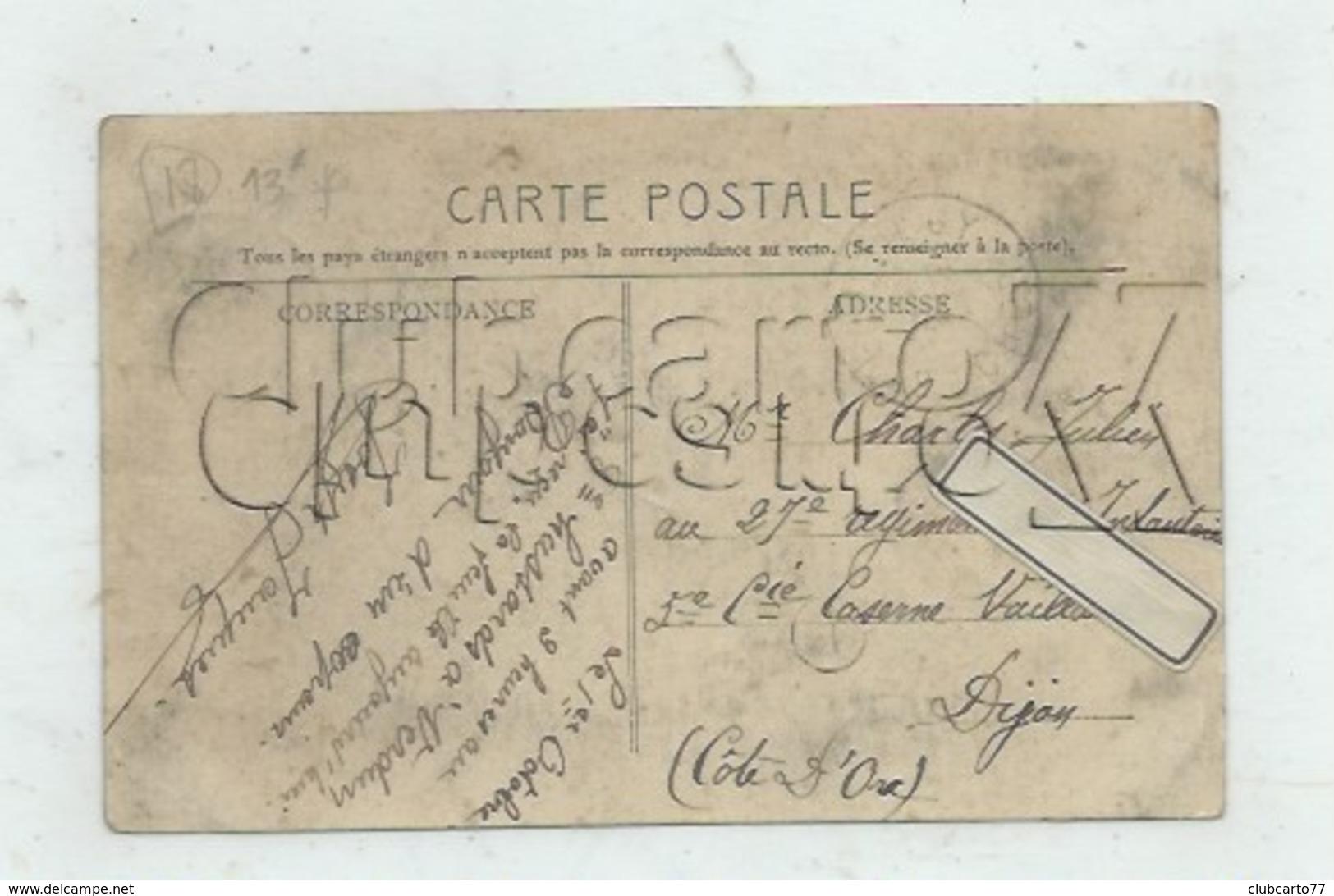 """Preuilly (18) : La Villa Bourgeoise Dite """"Le Château D'Eau"""" En 1910 (animé) PF . - Autres Communes"""