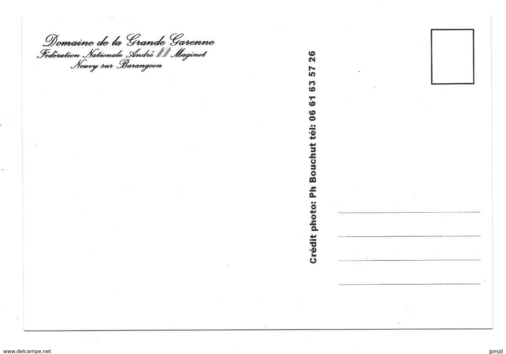 18 - Neuvy Sur Barangeon - Domaine De La Grande Garenne - Fédération Nationale André Maginot - Autres Communes
