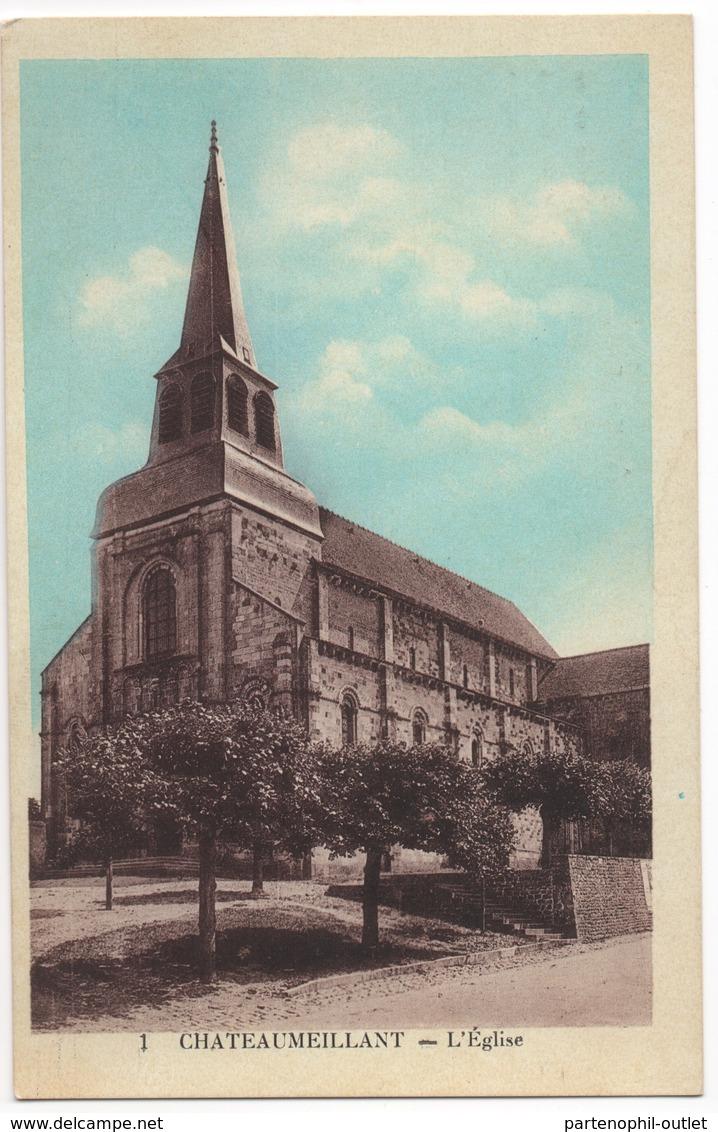 Cartolina - Postcard, Non Viaggiata (unsent),  Châteaumeillant - Châteaumeillant