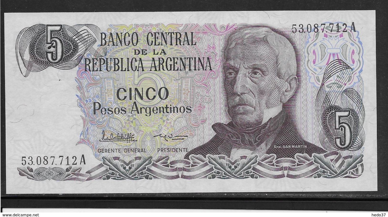 ARGENTINA 1 AUSTRAL P 323 SERIES C UNC