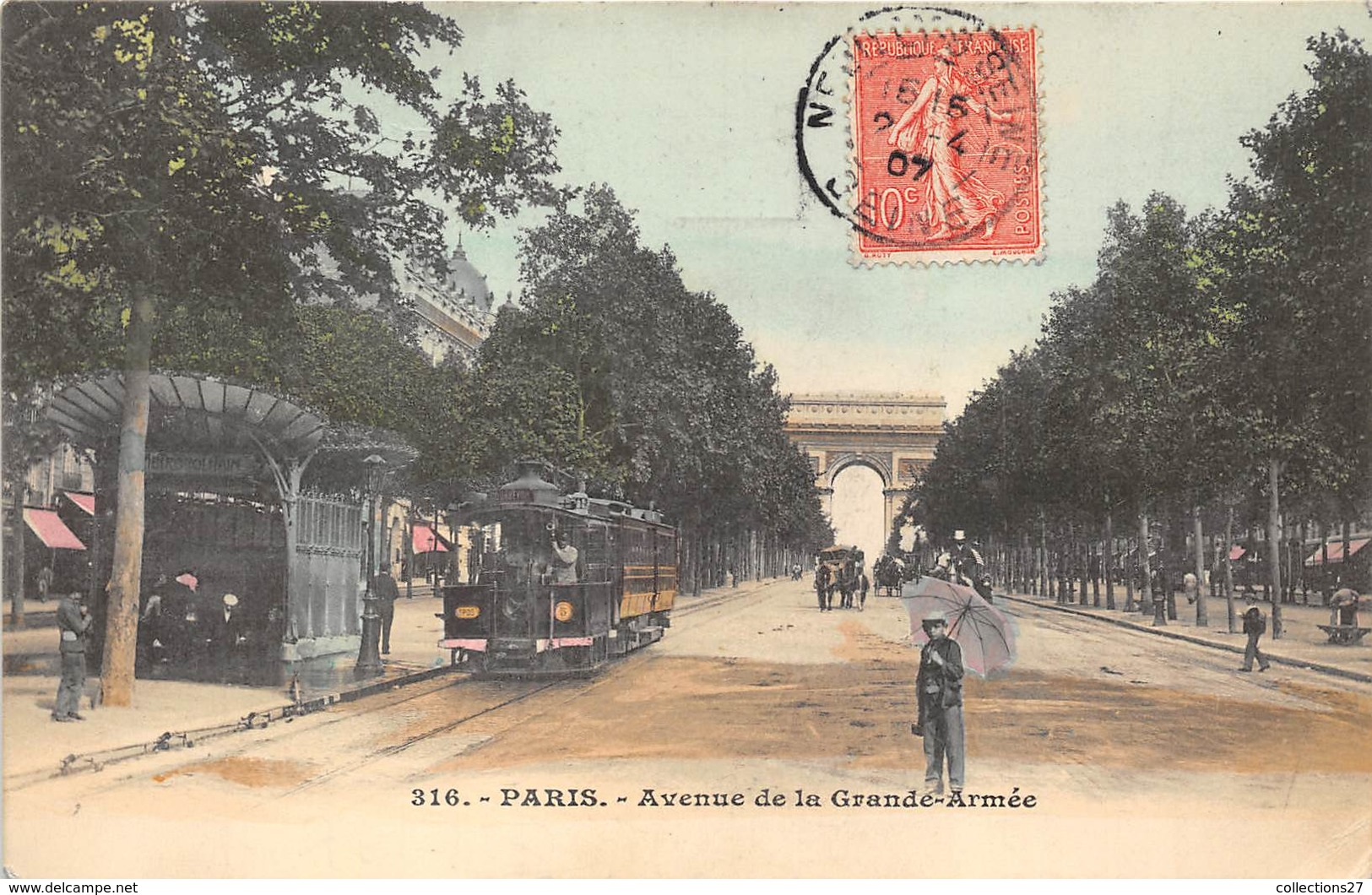 75017-PARIS-AVENUE DE LA GRANDE ARMEE - Arrondissement: 17