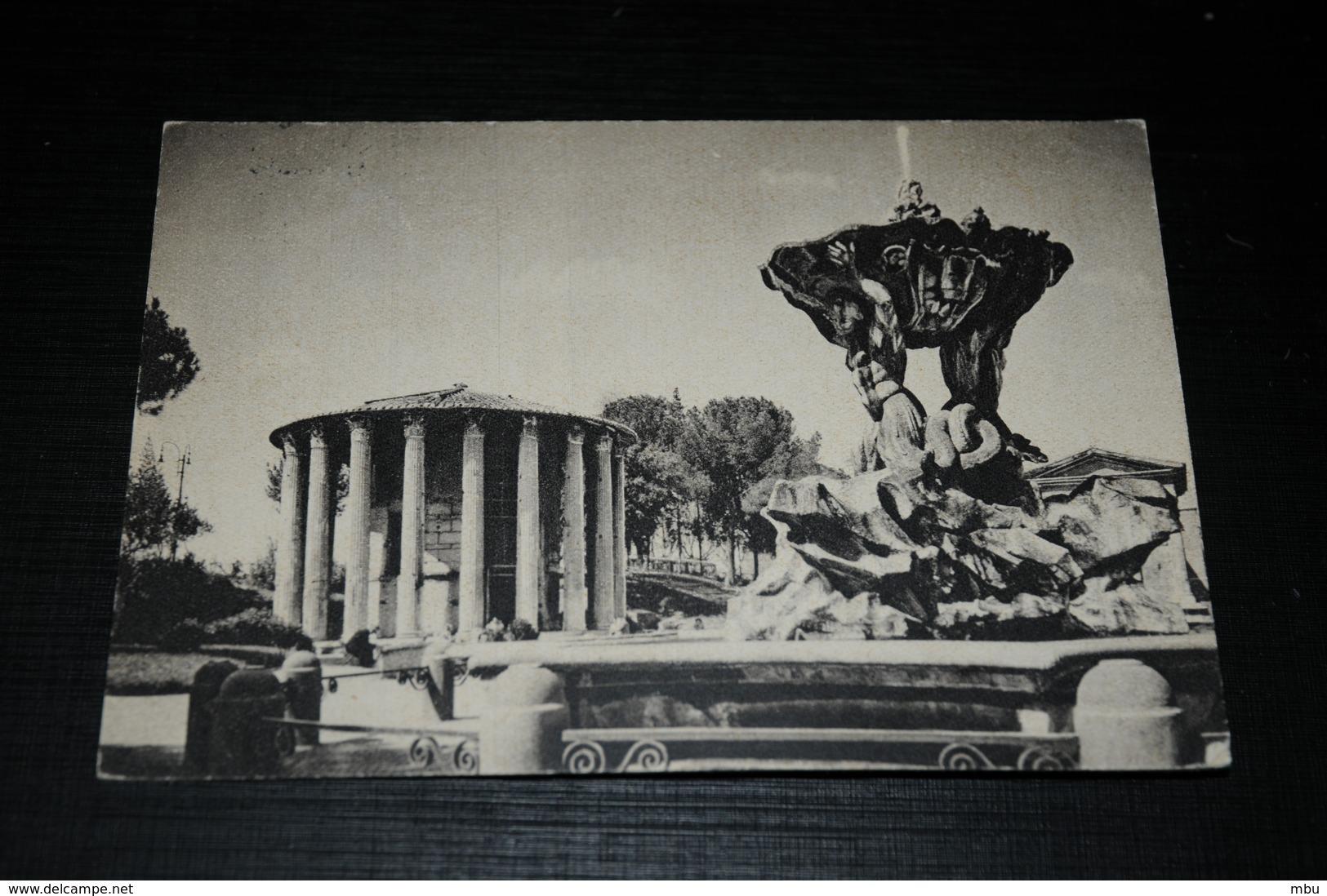 10479          ROMA, IL TEMPIO DI VESTA  - 1950 - Roma