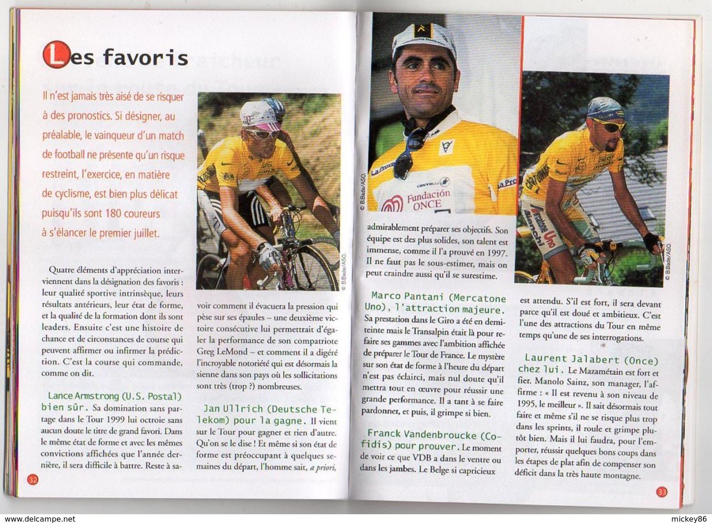 """Pub COCA COLA --Petit Livre """"Le TOUR De FRANCE  2000""""-- 48 Pages..(cyclisme ,vélo )....à Saisir - Livres"""