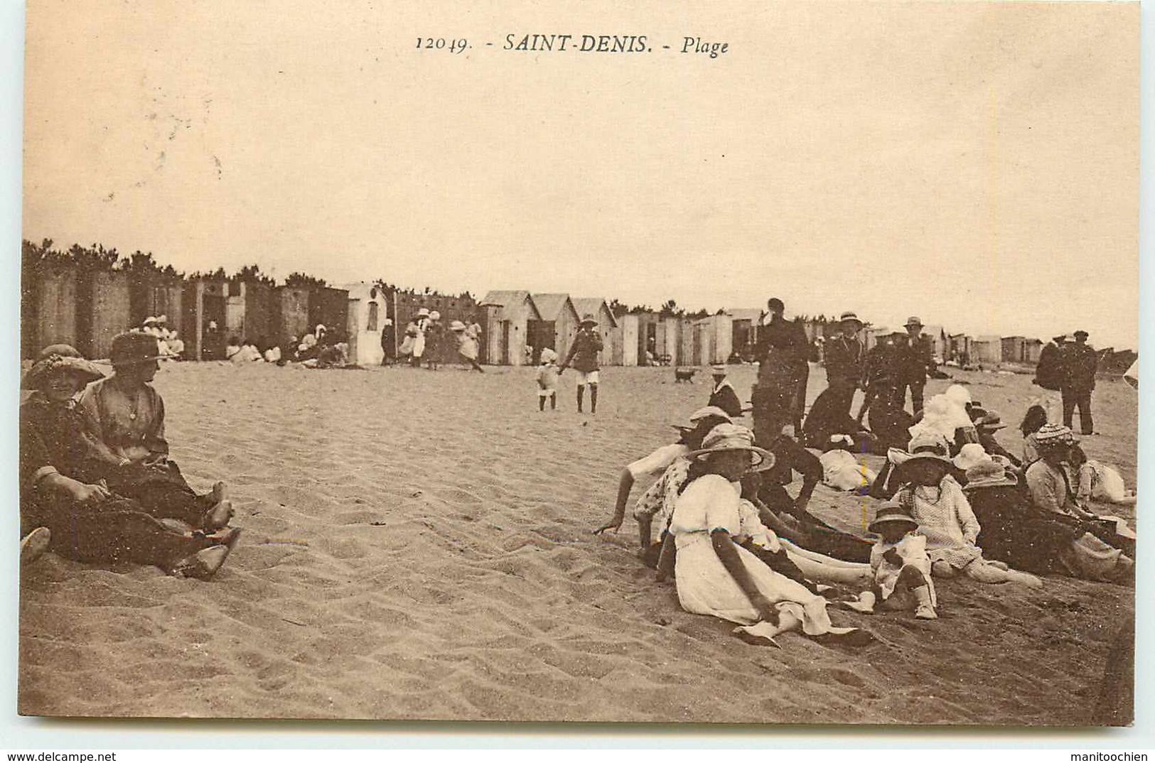 DEP 17  ILE D'OLERON SAINT DENIS PLAGE - Ile D'Oléron