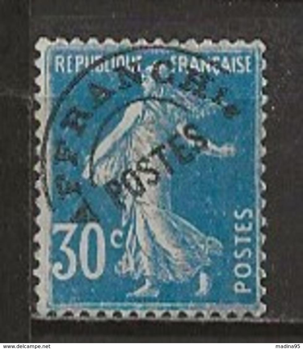 FRANCE:, (*), PREOBLITERES N° YT 60, TB - Préoblitérés