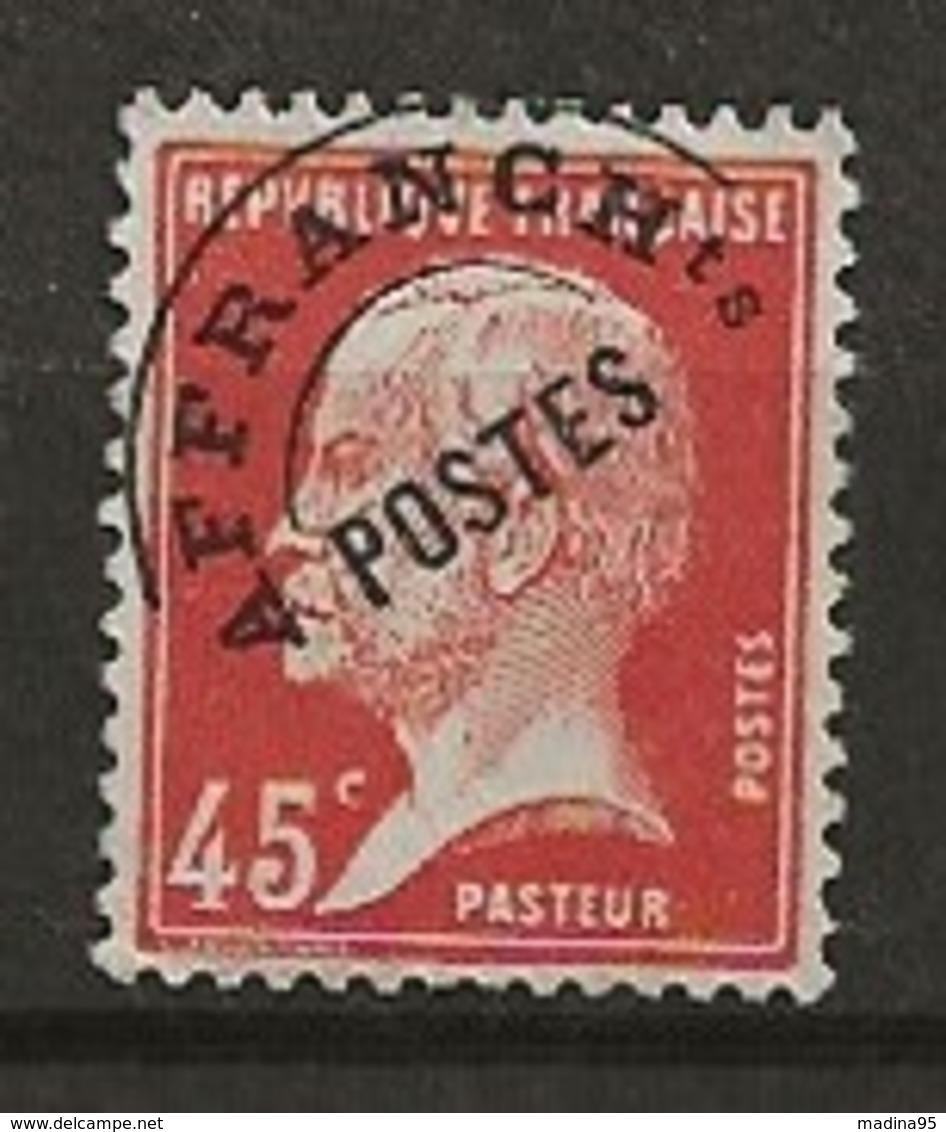 FRANCE:, (*), PREOBLITERES N° YT 67, TB - 1893-1947