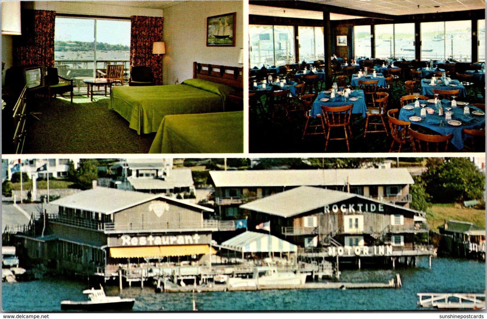 Maine Boothbay Harbor Rocktide Motor Inn and Restaurant