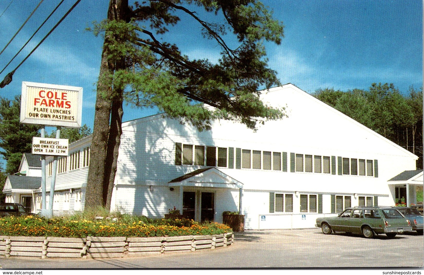Maine Gray Cole Farms Restaurant