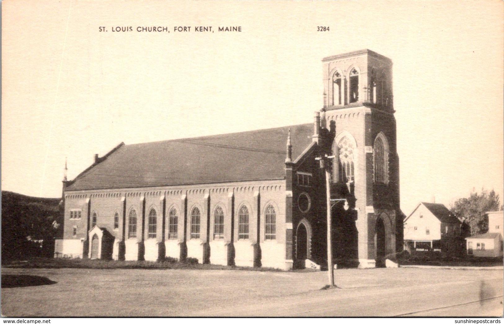 Maine Fort Kent St Louis Church