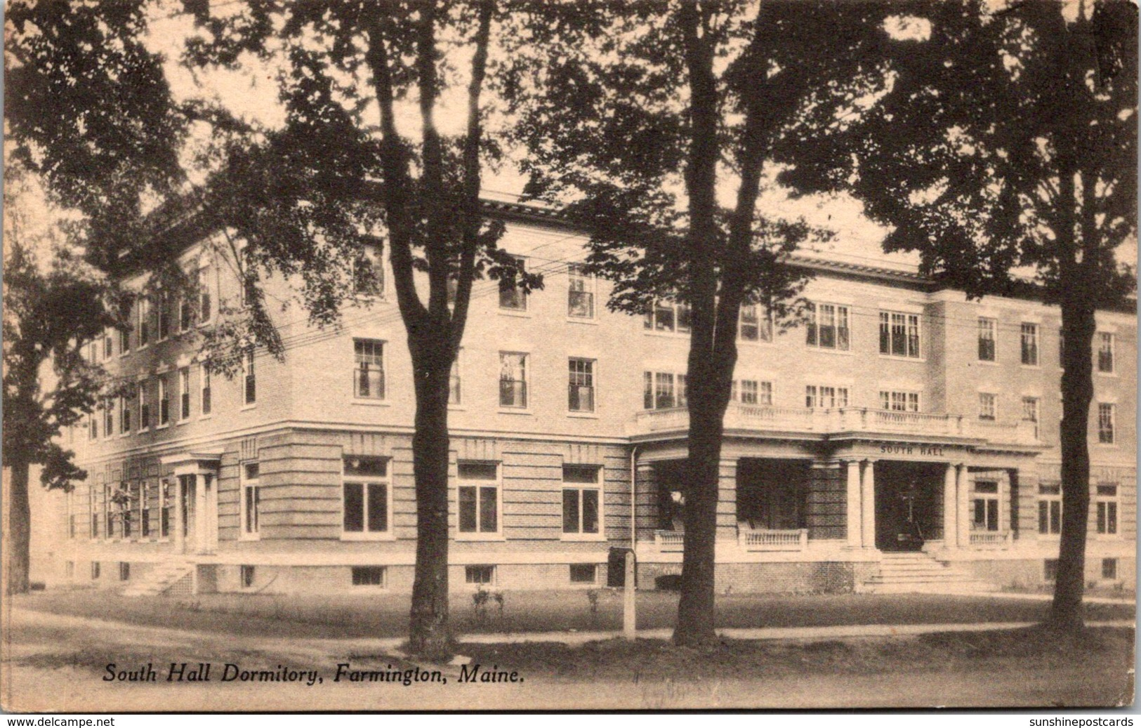 Maine Farmington South Hall Dormitory
