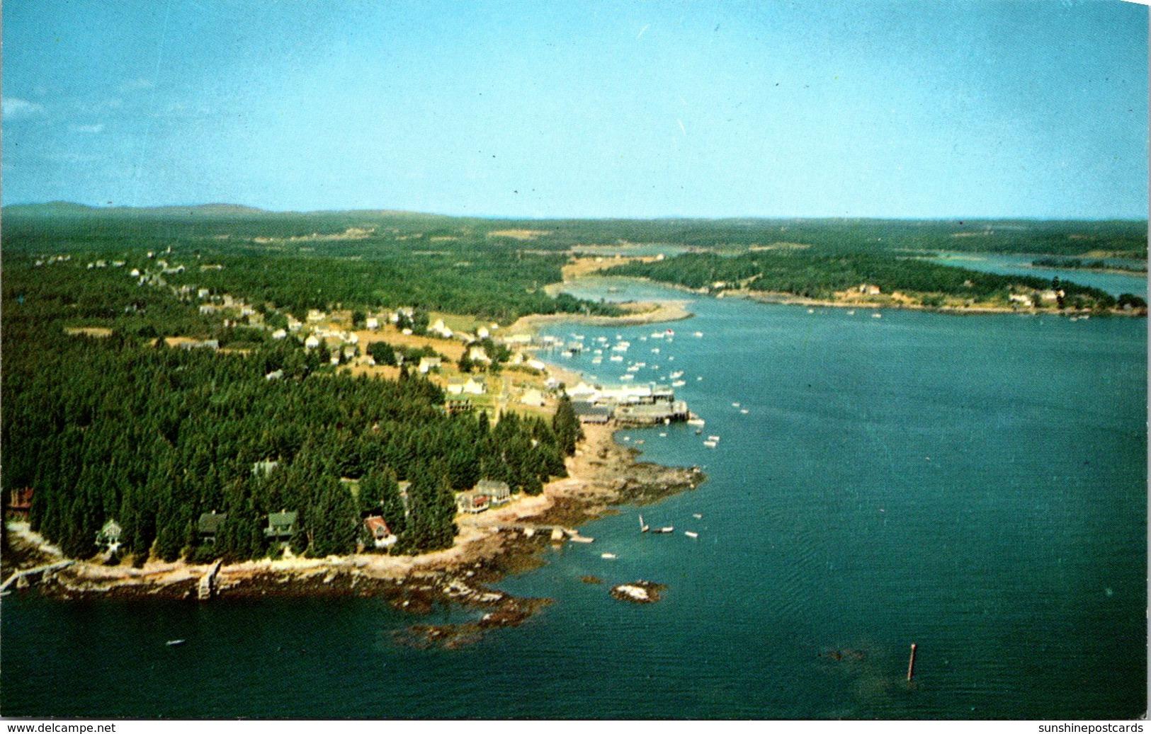 Maine Aerial View Friendship