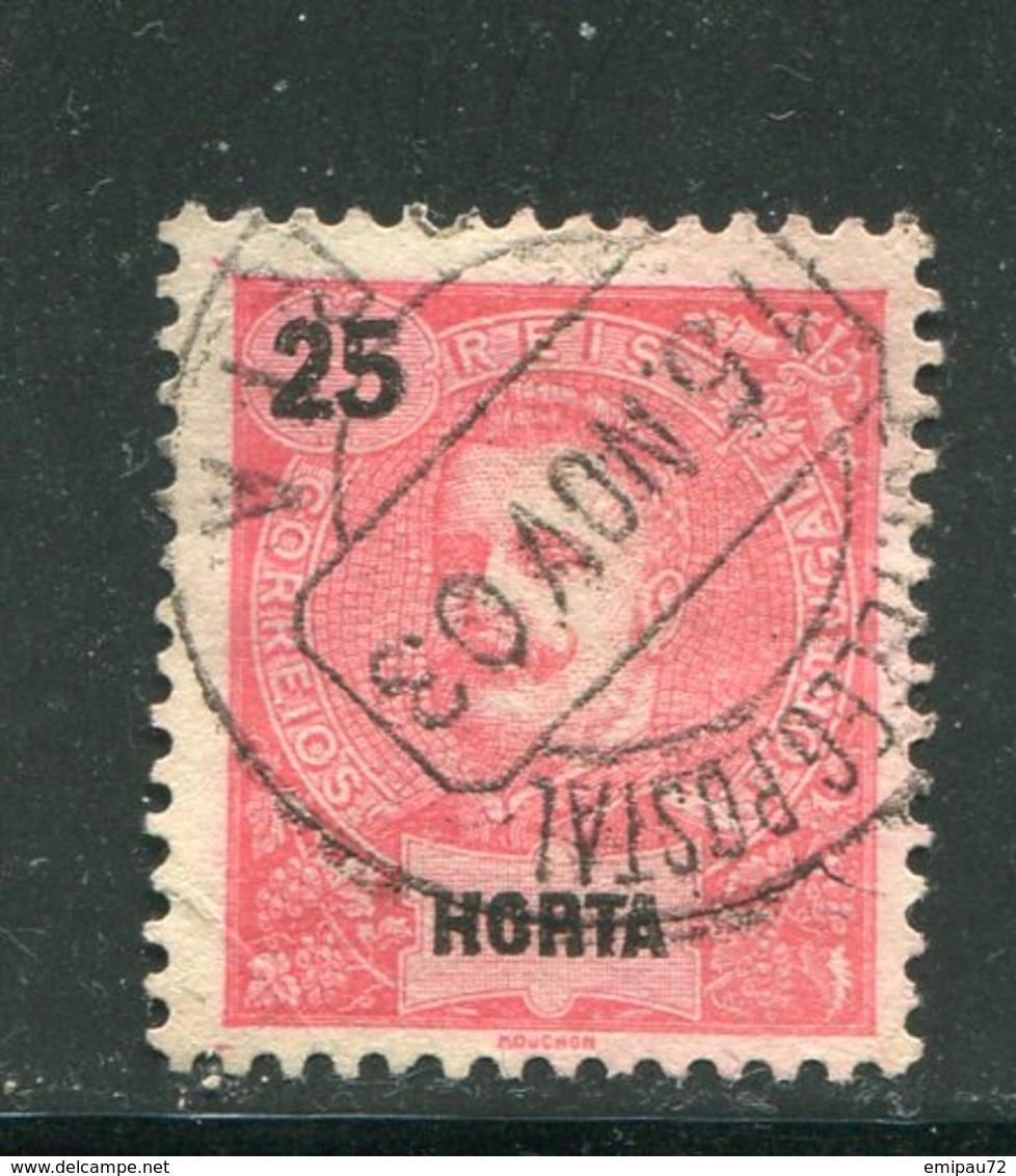 HORTA- Y&T N°20- Oblitéré - Horta