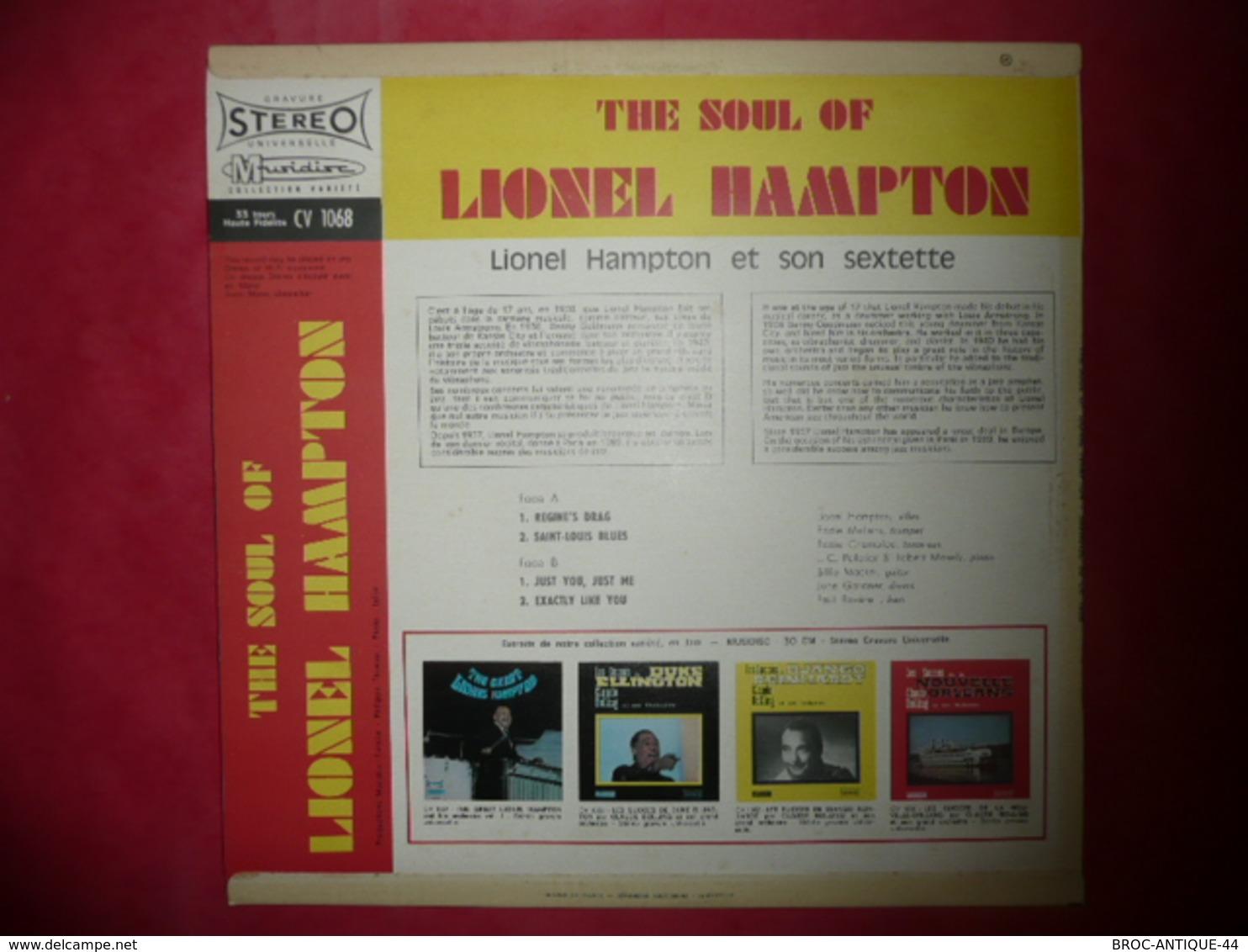LP N°3262 - LIONEL HAMPTON - 30 CV 1068 - Jazz