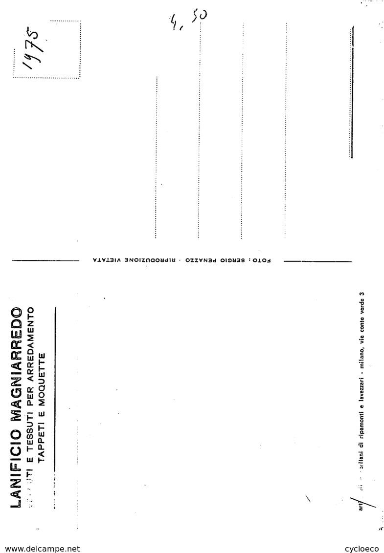 Mauro VANNUCCHI  . 2 Scans . Cyclisme. Magniflex 1975 - Radsport