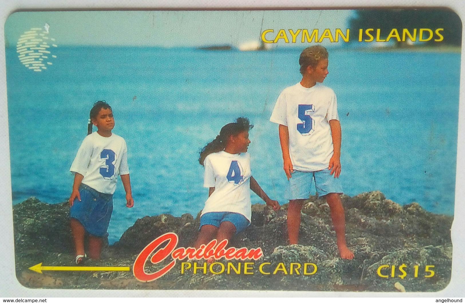 156CCIC New Area Code CI$15 - Iles Cayman