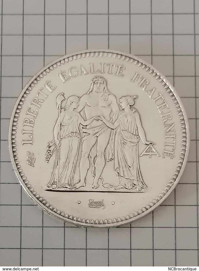 50 Francs 1979 - HERCULE - DUPRÉ - En Argent - M. 50 Francos