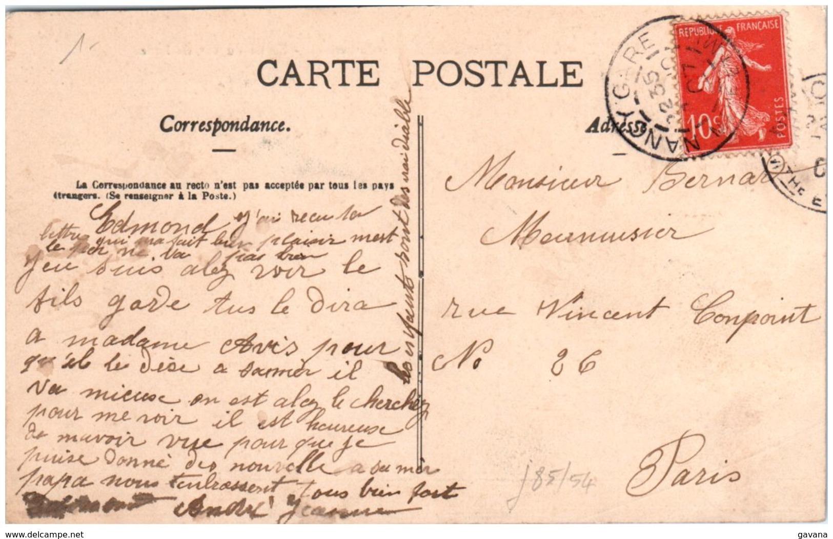 54 NANCY - Caserne Thiry - Sortie Du 26è De Ligne - Nancy
