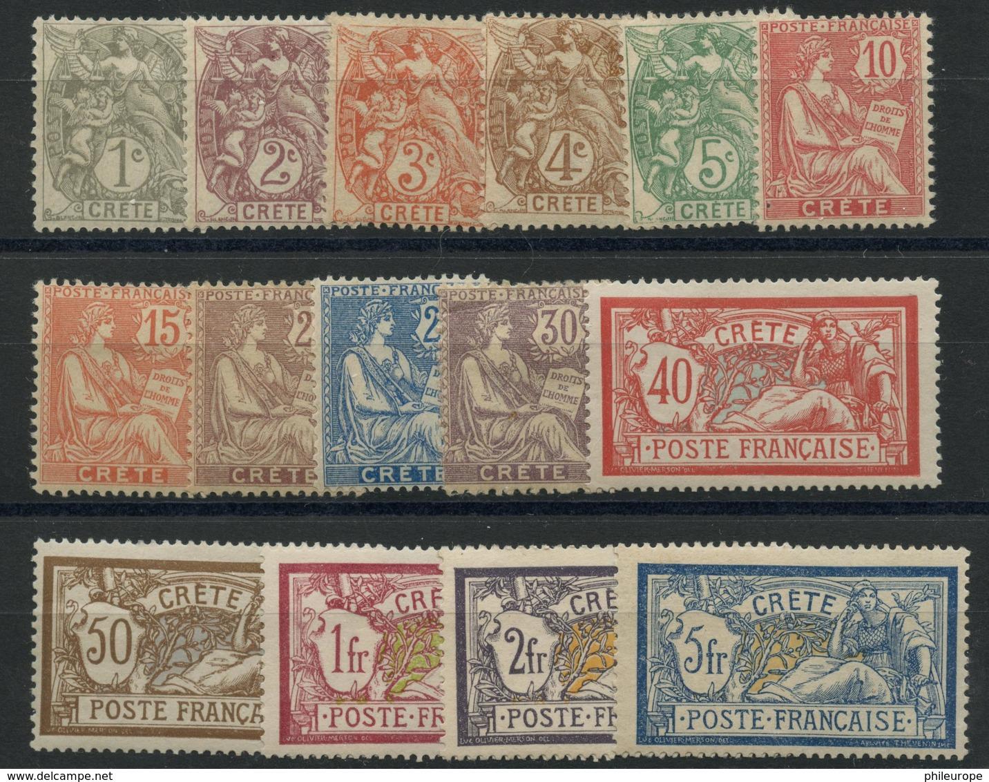Crete (1902) N 1 A 15 (charniere) - Unused Stamps